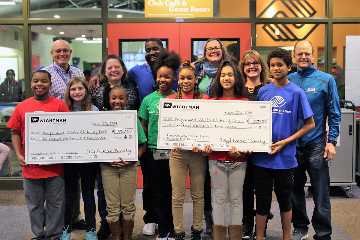 Big Brothers Big Sisters financial support